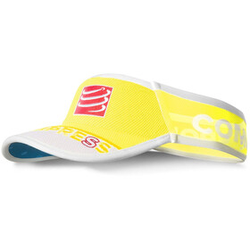 Compressport UltraLight copricapo, fluo yellow
